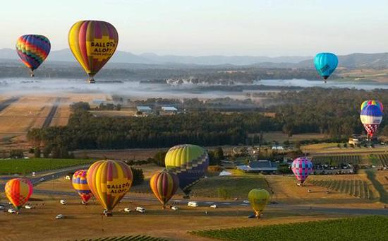Balloon Aloft, Hunter Valley